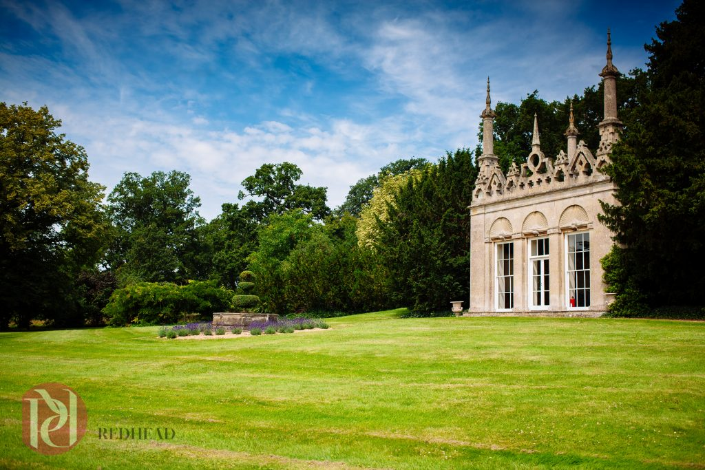 Burghley House Wedding - Summer House