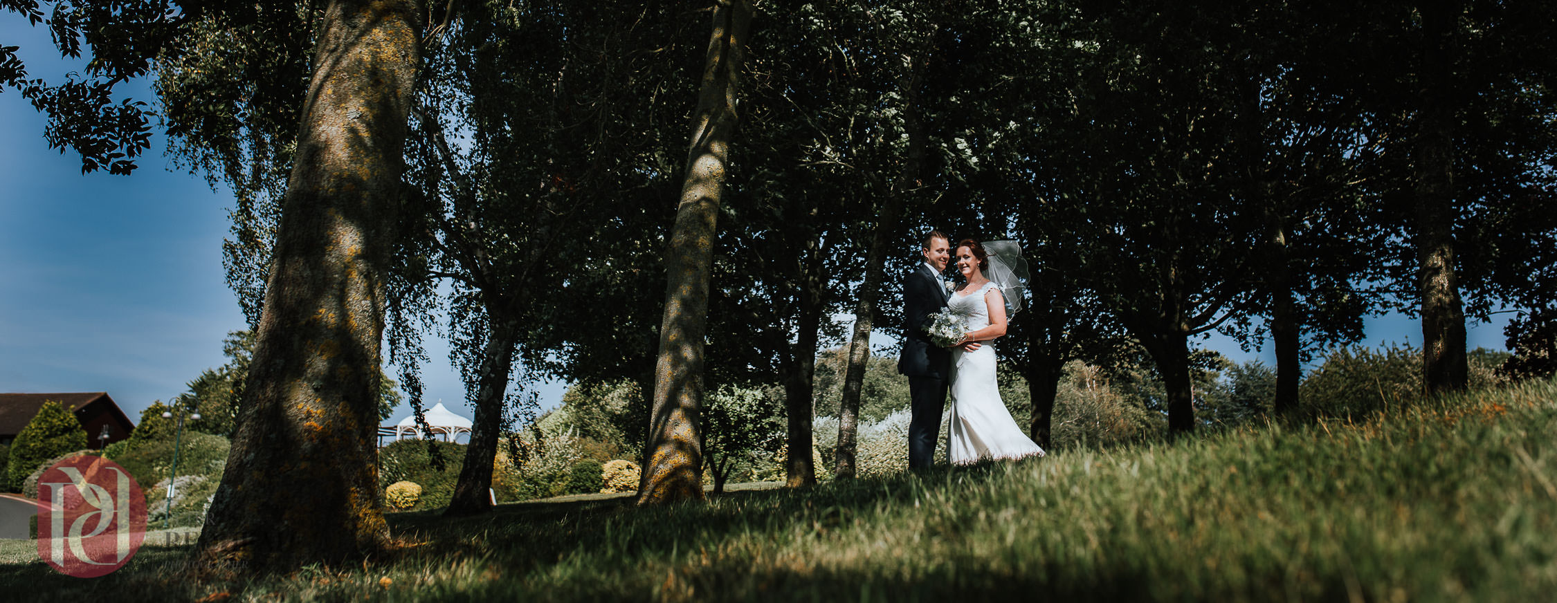 Summer wedding at Barnsdale Hall | Tara & George